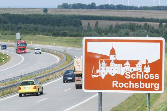 Autobahn A72-Der schnellste Weg nach Lunzenau