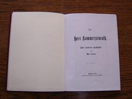 """""""Der Herr Kommerzienrat"""""""