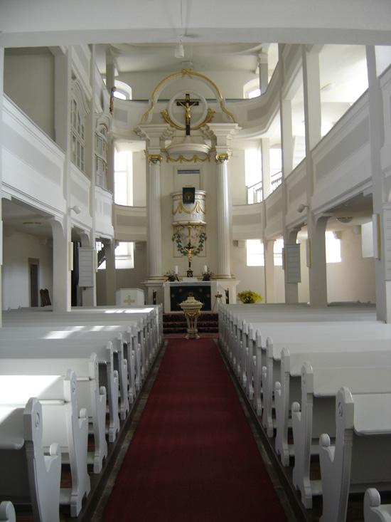 Kirche Sankt Jacobus Innenansicht