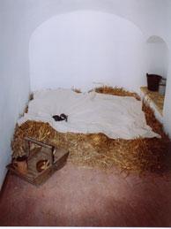 nachgestelltes Lager auf der Augustusburg