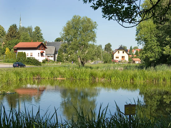 Am Teich in Oberelsdorf