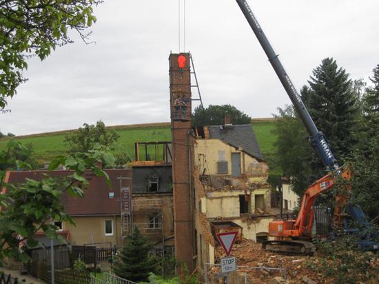 Abriss August 2010