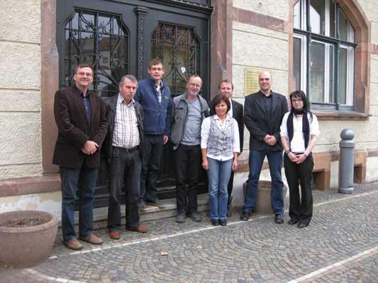 """Das """"Energieteam"""" der Stadt Lunzenau"""
