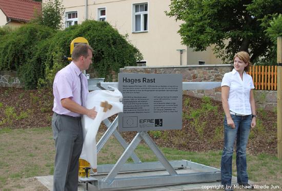 """Einweihung """"Hages Rast"""" 15.06.2011"""