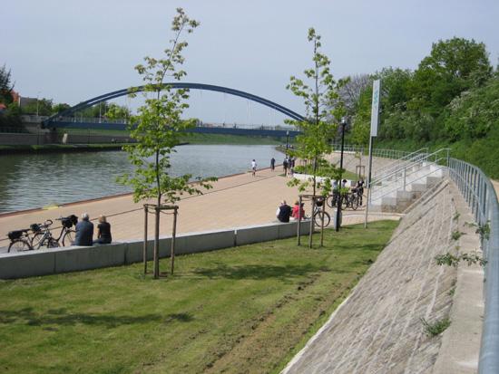 Am Uferpark in Riesenbeck