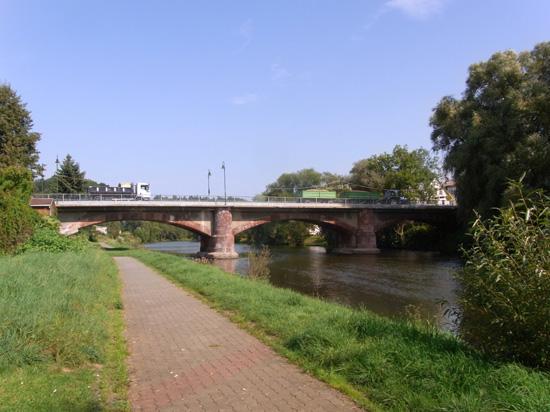 Die Muldenbrücke Lunzenau