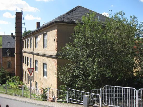 Die ehemalige Mützenfabrik