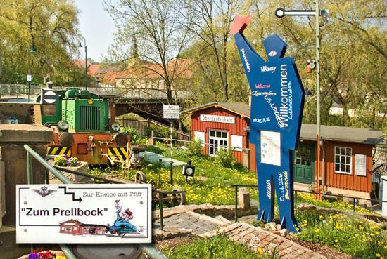"""Eisenbahnmuseum """"Zum Prellbock"""""""