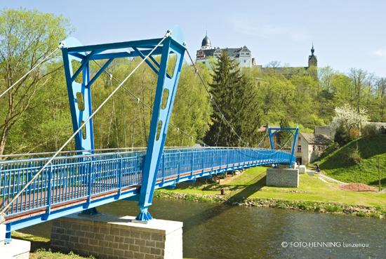 Die Rochsburger Hängebrücke