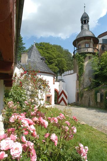 Eingangsportal Schloss Rochsburg