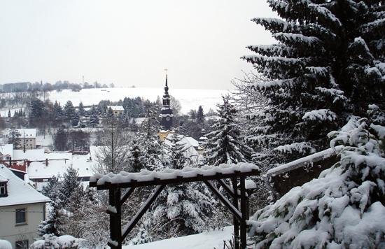Winterlicher Blick vom Dr.-Max-Vogler-Park
